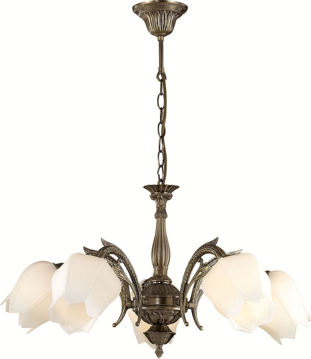 Люстра подвесная Lumion Lysette, цвет: белый, E27, 60 Вт. 2986/52986/5