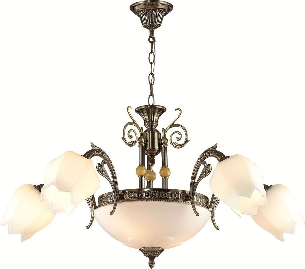 Люстра подвесная Lumion Lysette, цвет: белый, E27, 60 Вт. 2986/7A2986/7A