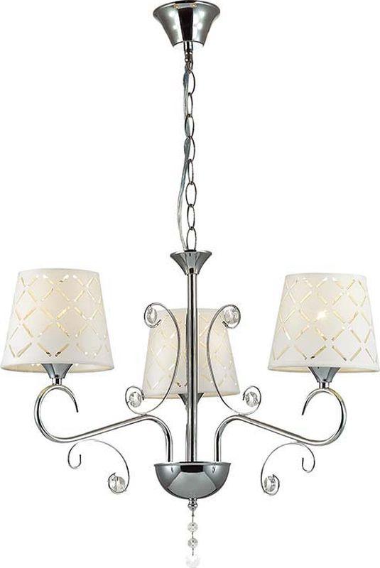 Люстра подвесная Lumion Fritta, цвет: белый, E14, 40 Вт. 2997/32997/3