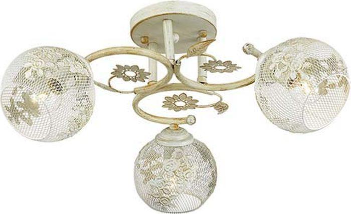 Люстра потолочная Lumion Ivetta, цвет: белый, E14, 40 Вт. 3000/3C3000/3C