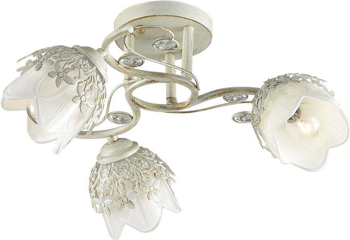 Люстра потолочная Lumion Florana, цвет: белый, E14, 40 Вт. 3002/3C3002/3C