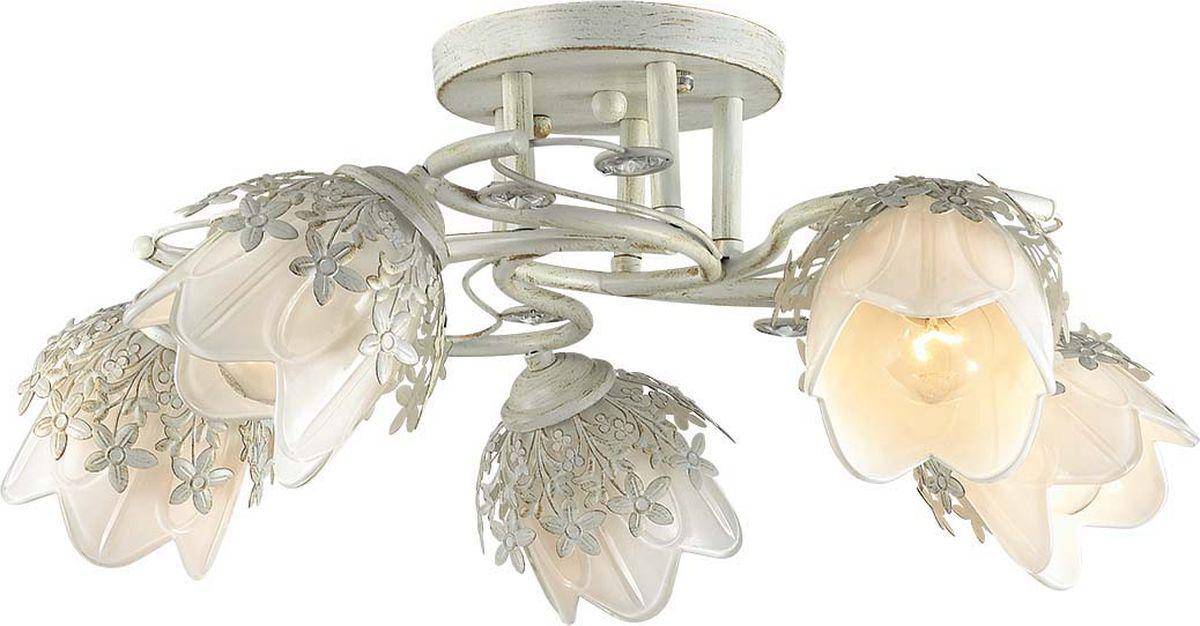 Люстра потолочная Lumion Florana, цвет: белый, E14, 40 Вт. 3002/5C3002/5C