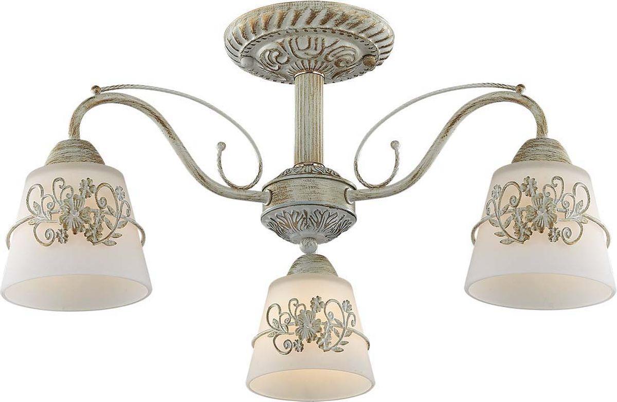 Люстра потолочная Lumion Veva, цвет: белый, E14, 40 Вт. 3003/3C3003/3C