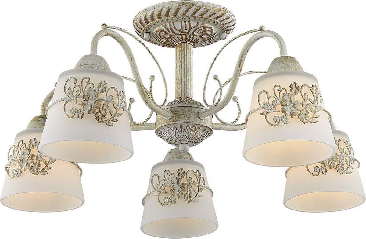 Люстра потолочная Lumion Veva, цвет: белый, E14, 40 Вт. 3003/5C3003/5C