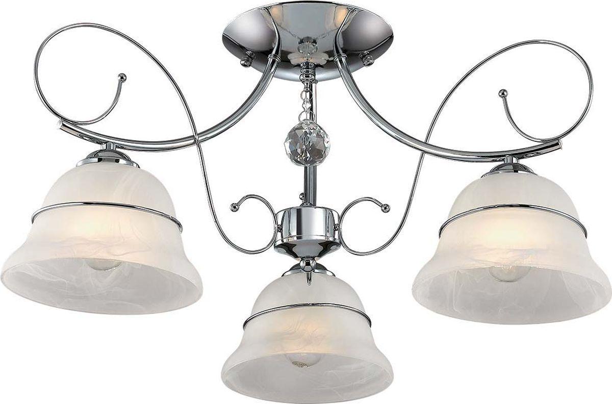 Люстра потолочная Lumion Nevia, цвет: белый, E14, 40 Вт. 3021/3C3021/3C