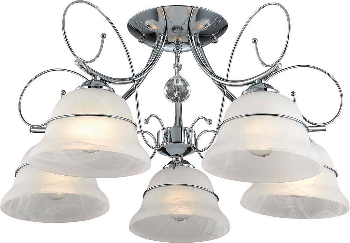 Люстра потолочная Lumion Nevia, цвет: белый, E14, 40 Вт. 3021/5C3021/5C