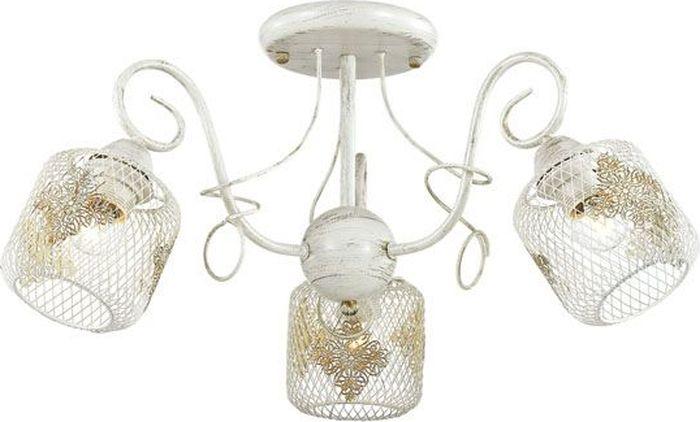 Люстра потолочная Lumion Netta, цвет: белый, E27, 40 Вт. 3028/3C3028/3C
