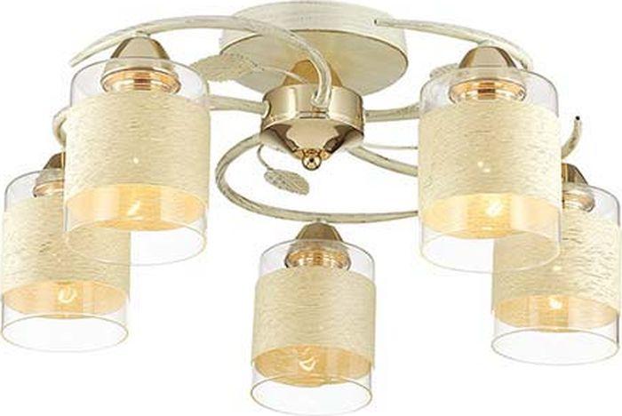 Люстра потолочная Lumion Filla White, цвет: прозрачный, E27, 60 Вт. 3029/5C3029/5C