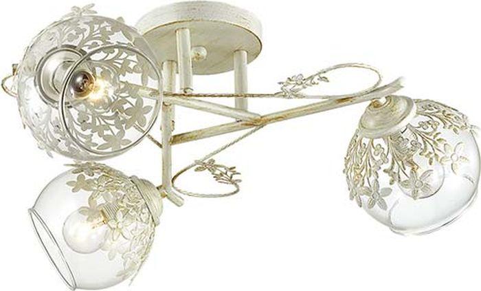 Люстра потолочная Lumion Florana, цвет: прозрачный, E14, 40 Вт. 3041/3C3041/3C