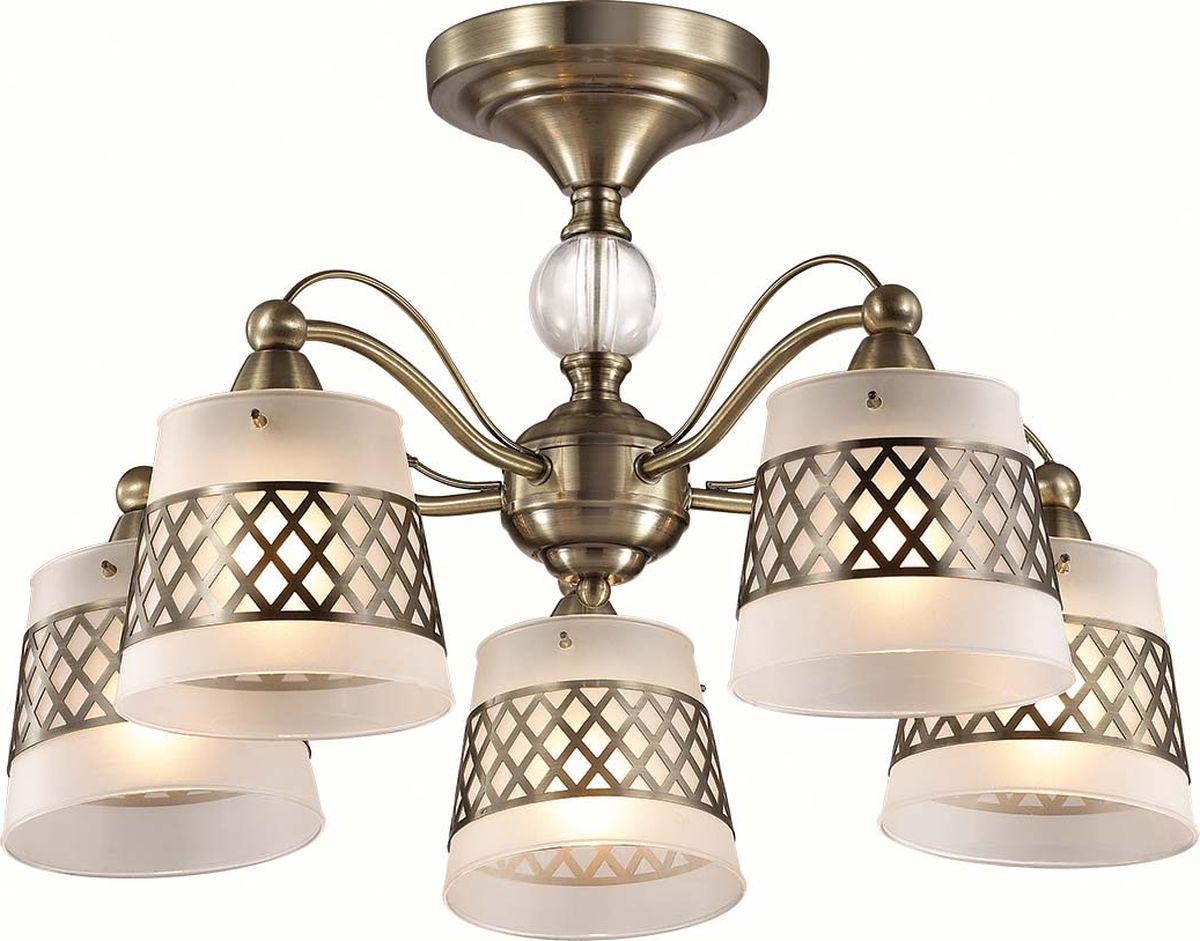 Люстра потолочная Lumion Castella, цвет: белый, E14, 40 Вт. 3050/5C3050/5C