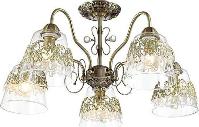 Люстра потолочная Lumion Colombina, цвет: прозрачный, E14, 40 Вт. 3051/5C3051/5C