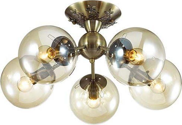 Люстра потолочная Lumion Palla Bronze, цвет: прозрачный, E14, 40 Вт. 3059/5C3059/5C