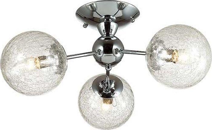 Люстра потолочная Lumion Palla Chrome, цвет: прозрачный, E14, 40 Вт. 3060/3C3060/3C