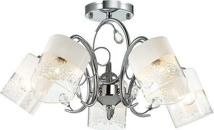 Люстра потолочная Lumion Gella, цвет: белый, E14, 40 Вт. 3061/5C3061/5C