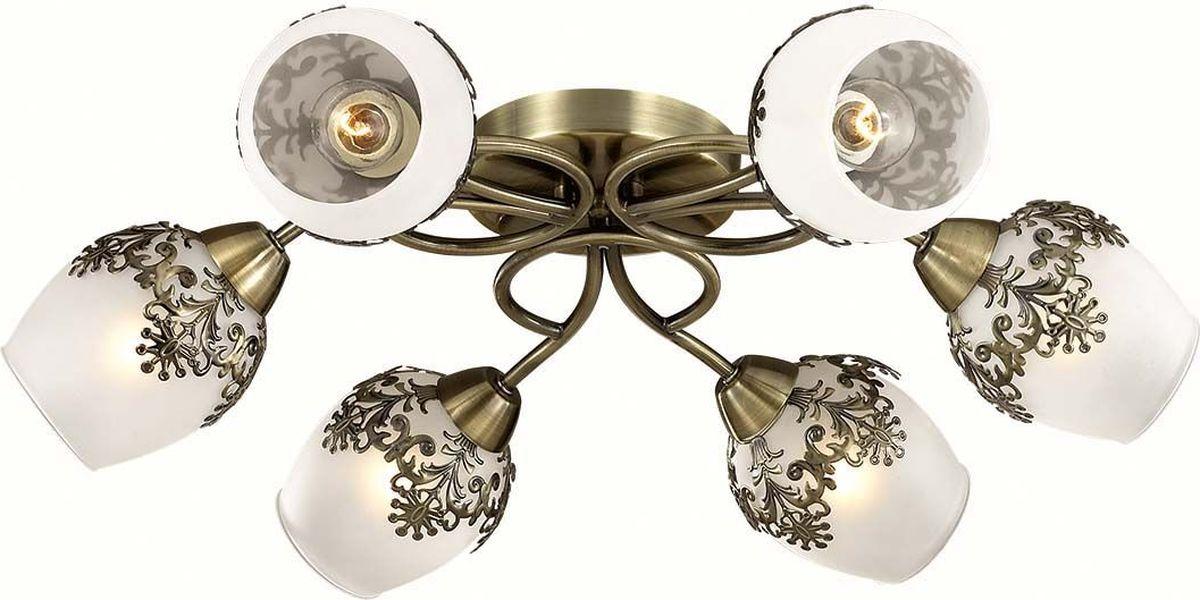 Люстра потолочная Lumion Filomena, цвет: белый, E14, 40 Вт. 3068/6C3068/6C