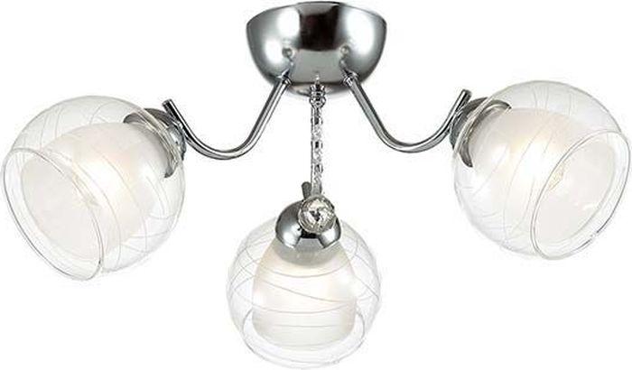 Люстра потолочная Lumion Brinna, цвет: прозрачный, E14, 40 Вт. 3071/3C3071/3C