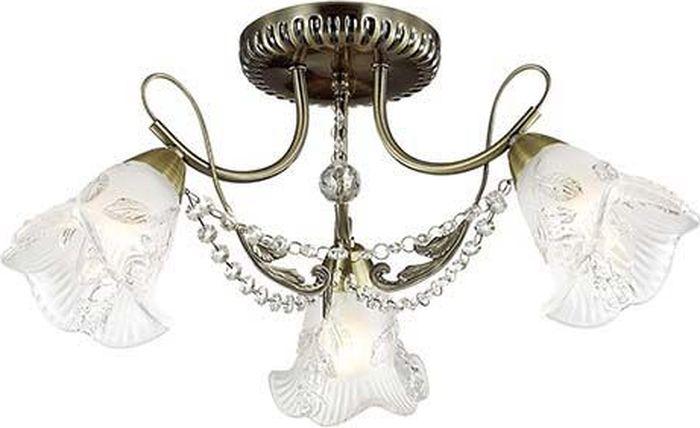 Люстра потолочная Lumion Verbena, цвет: белый, E14, 40 Вт. 3085/3C3085/3C
