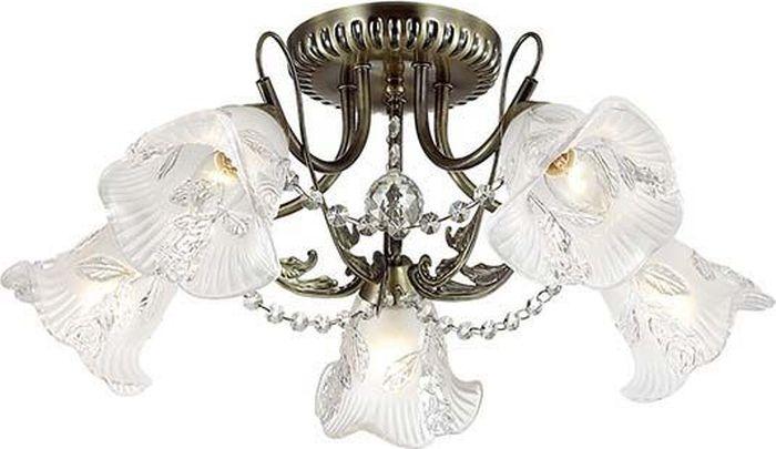 Люстра потолочная Lumion Verbena, цвет: белый, E14, 40 Вт. 3085/5C3085/5C