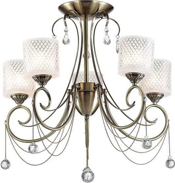 Люстра потолочная Lumion Caraffa, цвет: белый, E14, 40 Вт. 3087/5C3087/5C