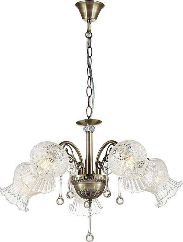 Люстра подвесная Lumion Camelia, цвет: прозрачный, E14, 40 Вт. 3093/53093/5
