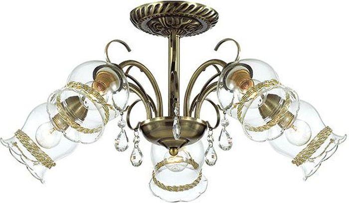 Люстра потолочная Lumion Divina, цвет: прозрачный, E14, 40 Вт. 3094/5C3094/5C