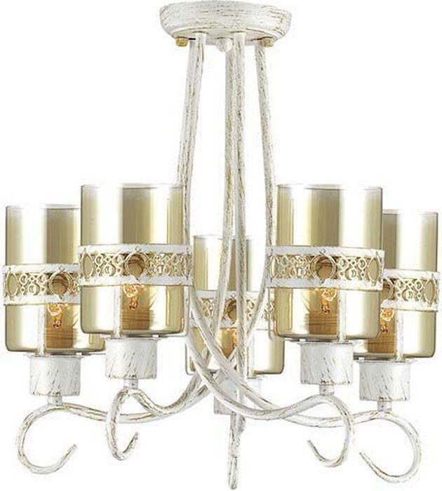 Люстра потолочная Lumion Vitelia White, цвет: прозрачный, E27, 40 Вт. 3099/5C3099/5C