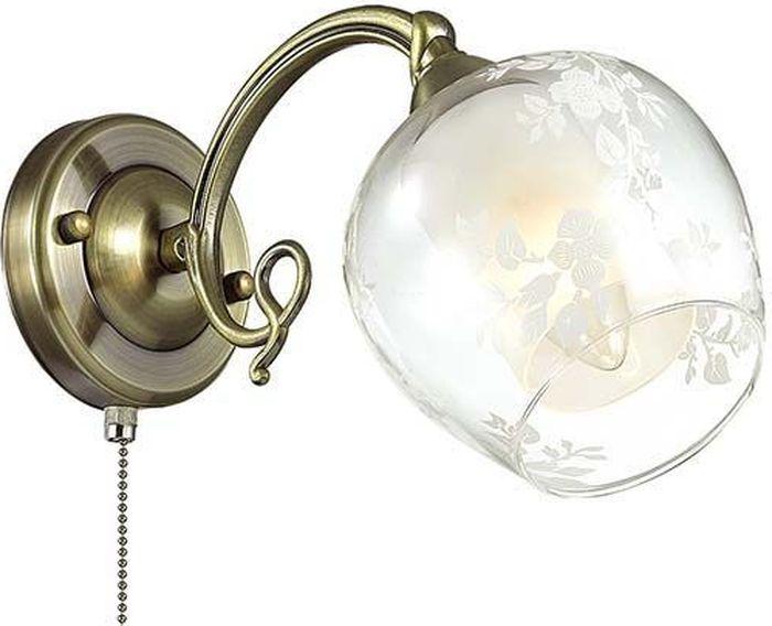 Бра Lumion Velia, цвет: прозрачный, E14, 60 Вт. 3107/1W3107/1W