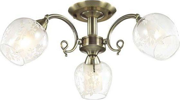 Люстра потолочная Lumion Velia, цвет: прозрачный, E14, 60 Вт. 3107/3C3107/3C