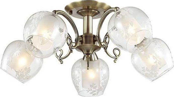 Люстра потолочная Lumion Velia, цвет: прозрачный, E14, 60 Вт. 3107/5C3107/5C