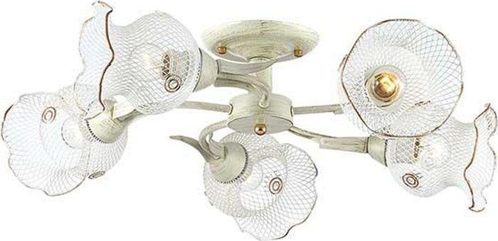 Люстра потолочная Lumion Rozetta White, цвет: белый, E27, 60 Вт. 3108/5C3108/5C
