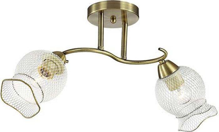 Люстра потолочная Lumion Rozetta Bronze, цвет: белый, E27, 60 Вт. 3109/2C3109/2C