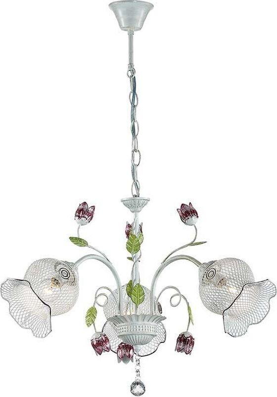 Люстра подвесная Lumion Tulippa, цвет: белый, E14, 40 Вт. 3111/33111/3