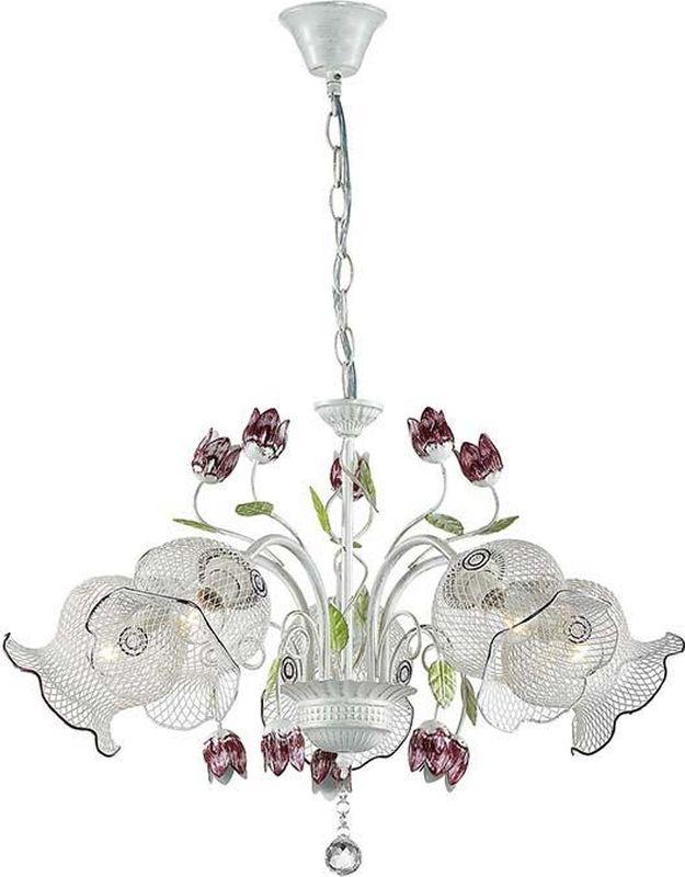 Люстра подвесная Lumion Tulippa, цвет: белый, E14, 40 Вт. 3111/53111/5