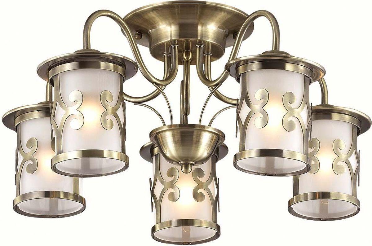 Люстра потолочная Lumion Sekvana Bronze, цвет: белый, E27, 40 Вт. 3118/5C3118/5C