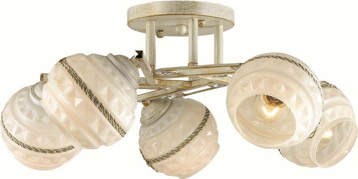 Люстра потолочная Lumion Tatina, цвет: бежевый, E14, 40 Вт. 3119/5C3119/5C