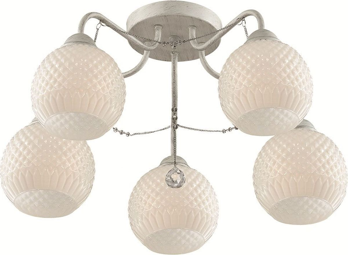 Люстра потолочная Lumion Elodia, цвет: белый, E27, 60 Вт. 3121/5C3121/5C