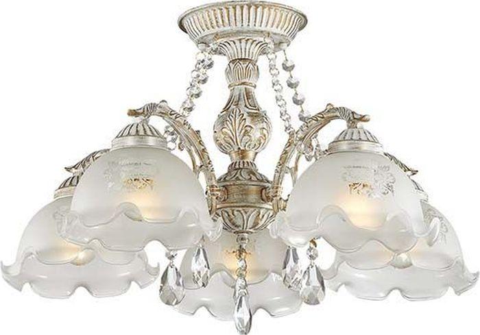 Люстра потолочная Lumion Casetta, цвет: белый, E27, 60 Вт. 3126/5C3126/5C