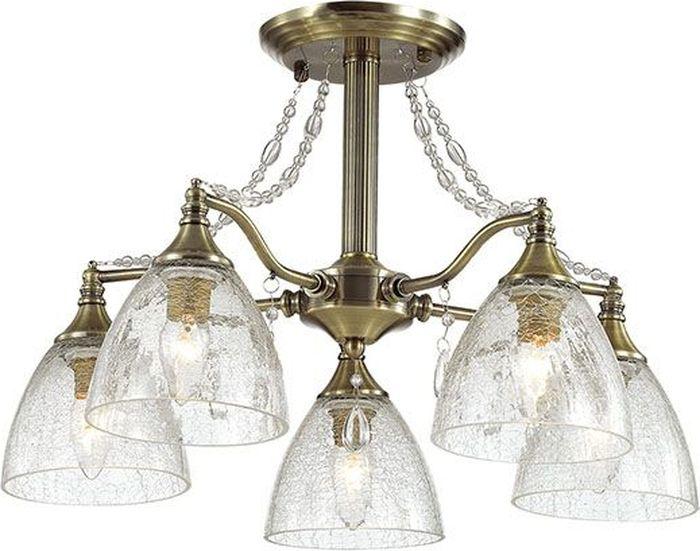 Люстра потолочная Lumion Vivina, цвет: прозрачный, E14, 40 Вт. 3132/5C3132/5C