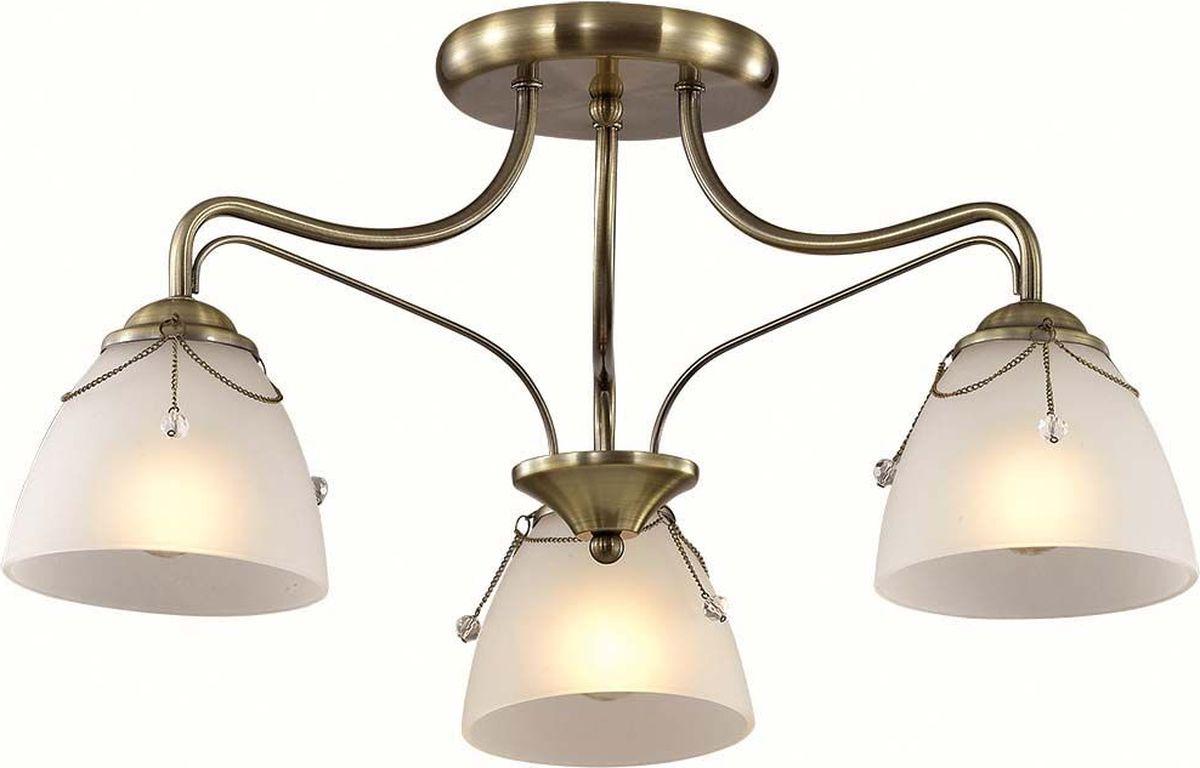 Люстра потолочная Lumion Debora, цвет: белый, E27, 60 Вт. 3146/3C3146/3C