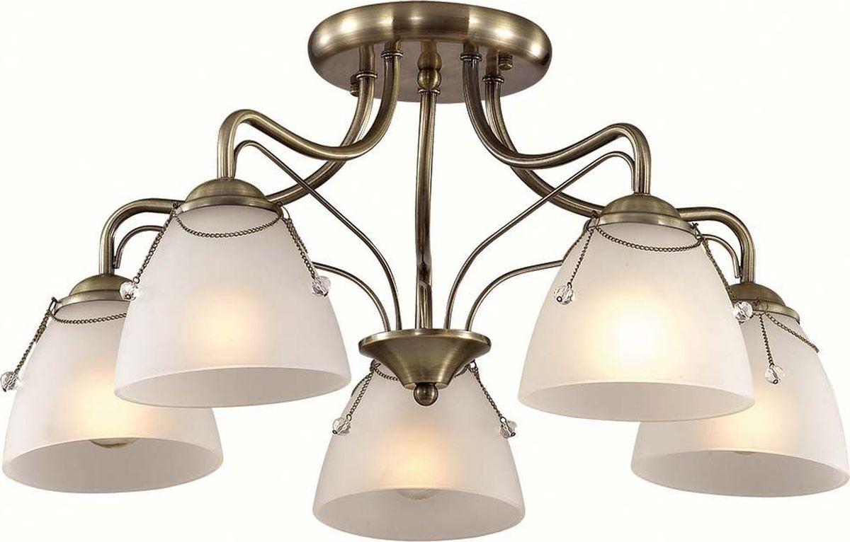 Люстра потолочная Lumion Debora, цвет: белый, E27, 60 Вт. 3146/5C3146/5C