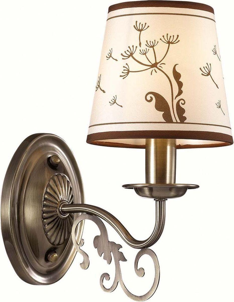Бра Lumion Zinetta Bronze, цвет: белый, E14, 40 Вт. 3204/1W3204/1W