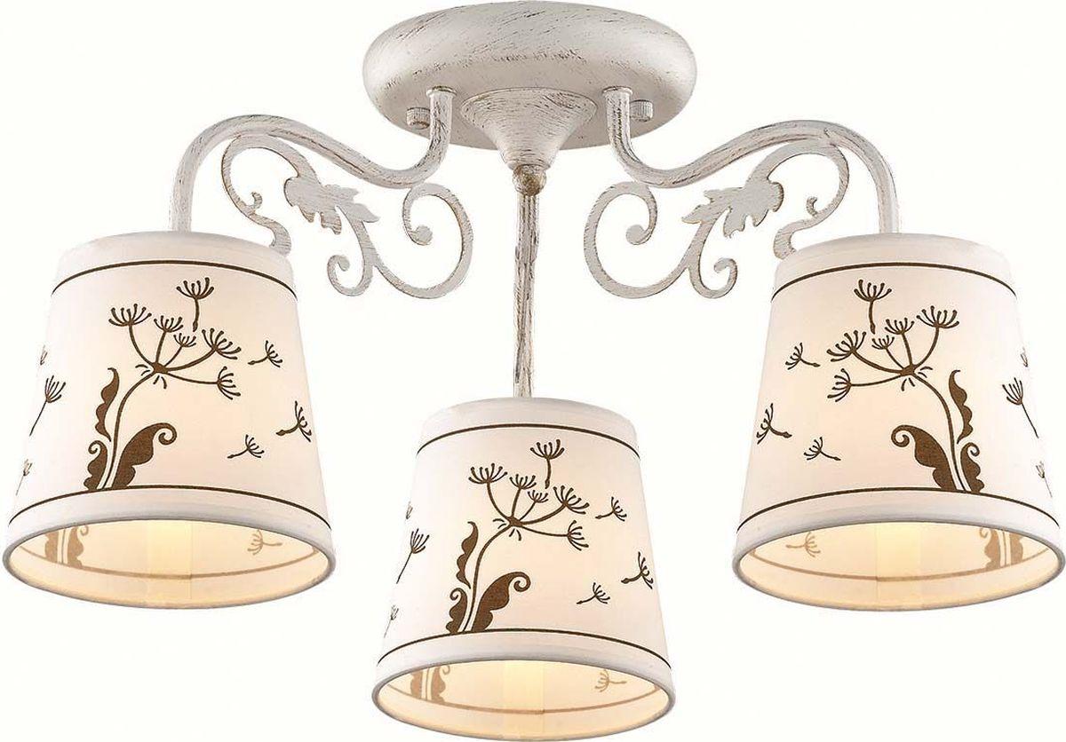 Люстра потолочная Lumion Zinetta White, цвет: белый, E14, 40 Вт. 3205/3C3205/3C