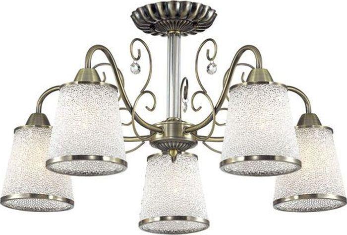 Люстра потолочная Lumion Bruni, цвет: белый, E14, 40 Вт. 3226/5C3226/5C