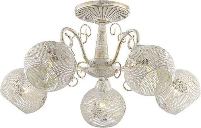 Люстра потолочная Lumion Elina, цвет: белый, E14, 40 Вт. 3231/5C3231/5C
