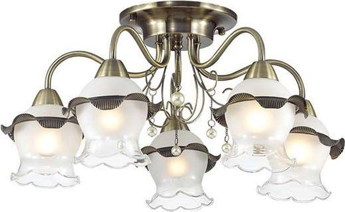 Люстра потолочная Lumion Zidoni, цвет: белый, E14, 60 Вт. 3239/5C3239/5C