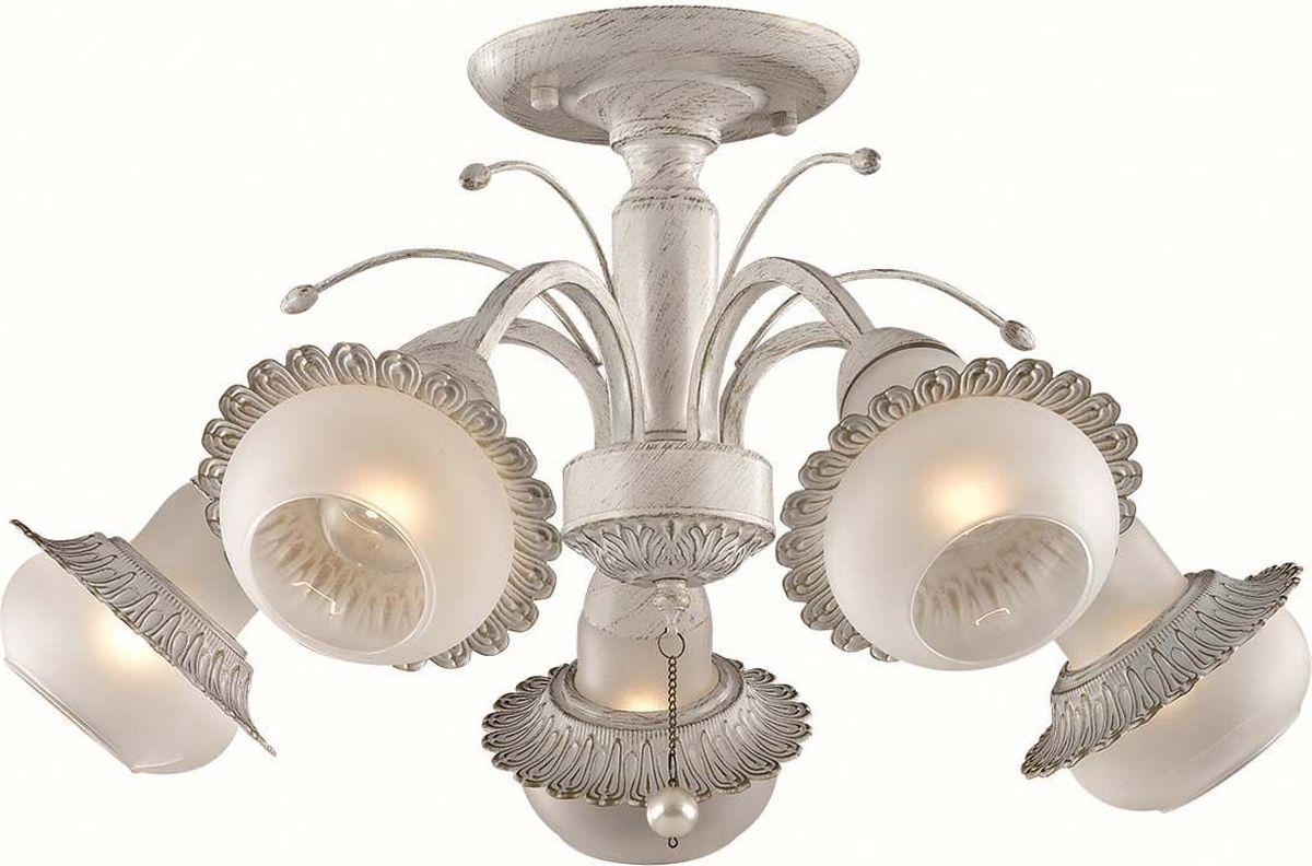 Люстра потолочная Lumion Franka, цвет: белый, E14, 60 Вт. 3240/5C3240/5C