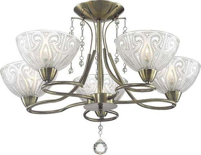 Люстра потолочная Lumion Selia, цвет: белый, E14, 60 Вт. 3241/5C3241/5C