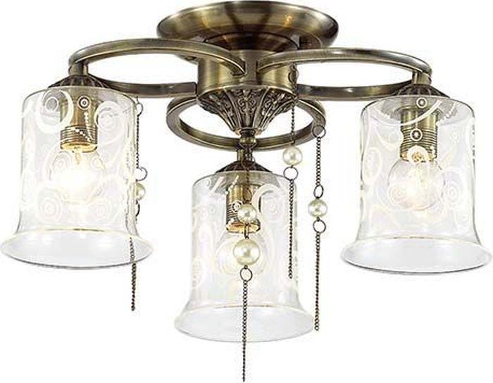 Люстра потолочная Lumion Otalia, цвет: прозрачный, E14, 60 Вт. 3242/3C3242/3C