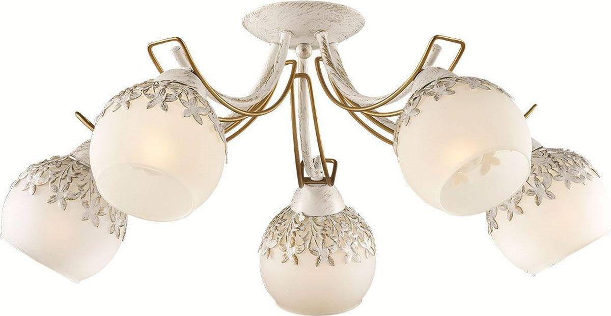 Люстра потолочная Lumion Serisa, цвет: белый, E14, 60 Вт. 3247/5C