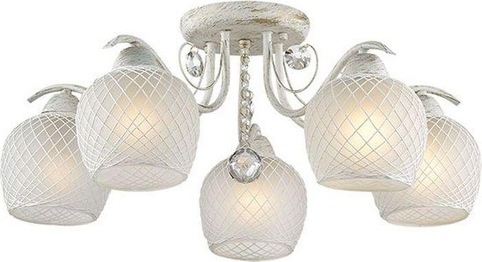 Люстра потолочная Lumion Verena, цвет: белый, E27, 60 Вт. 3254/5C3254/5C